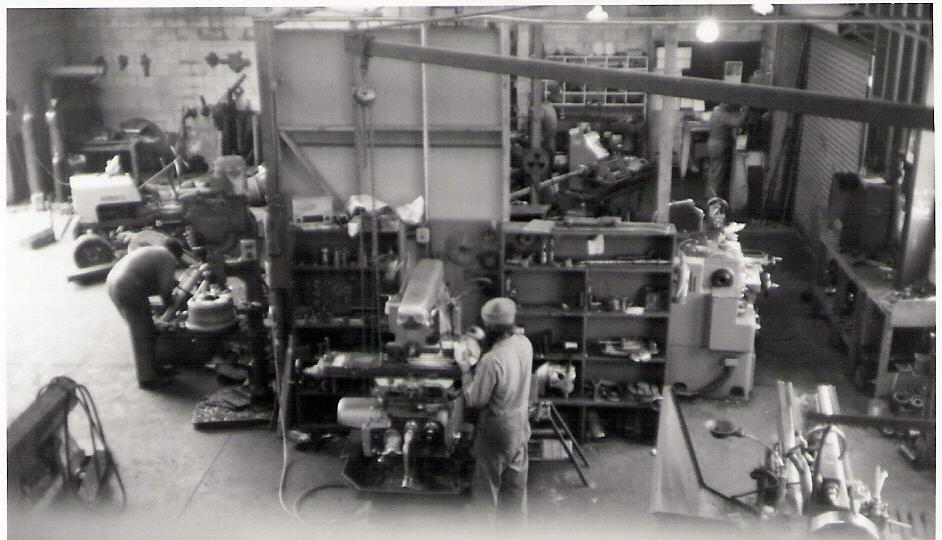 The original Trimax factory - 1981